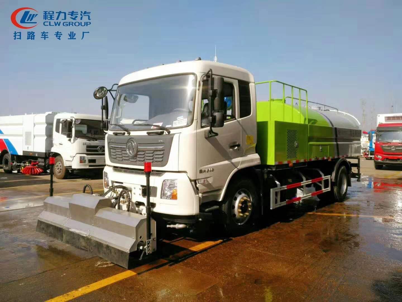 國六東風天錦高壓清洗車圖片