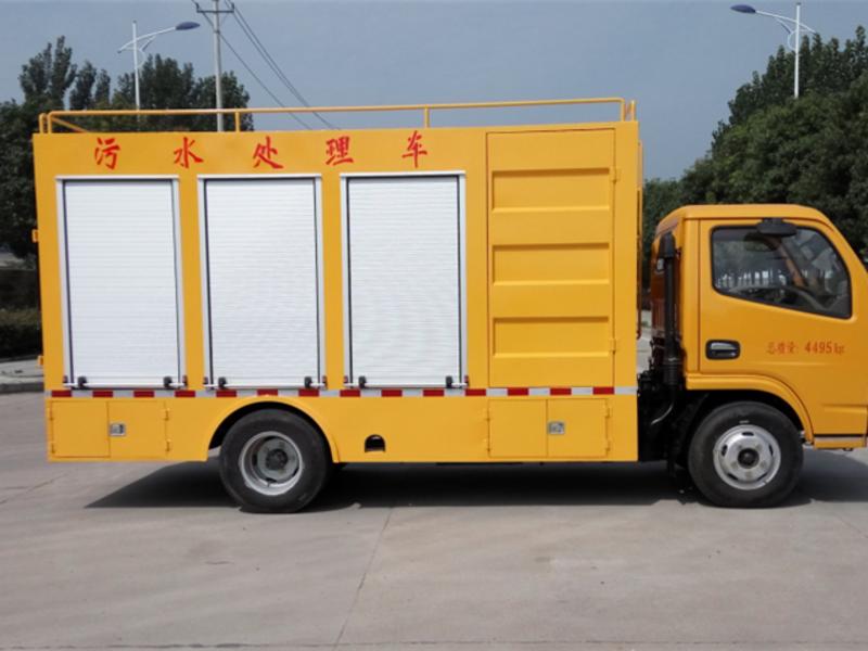 污水处理车(国6小多利卡)图片
