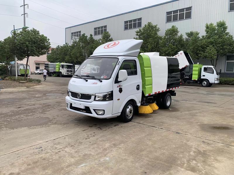 東風國六小型掃路車視頻