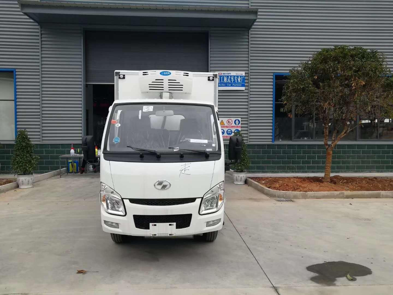 國六躍進小福星汽油醫療廢物轉運車圖片