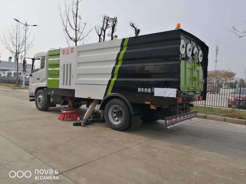东风天锦国六16方吸尘车图片
