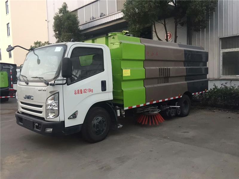 江铃国六9方洗扫车
