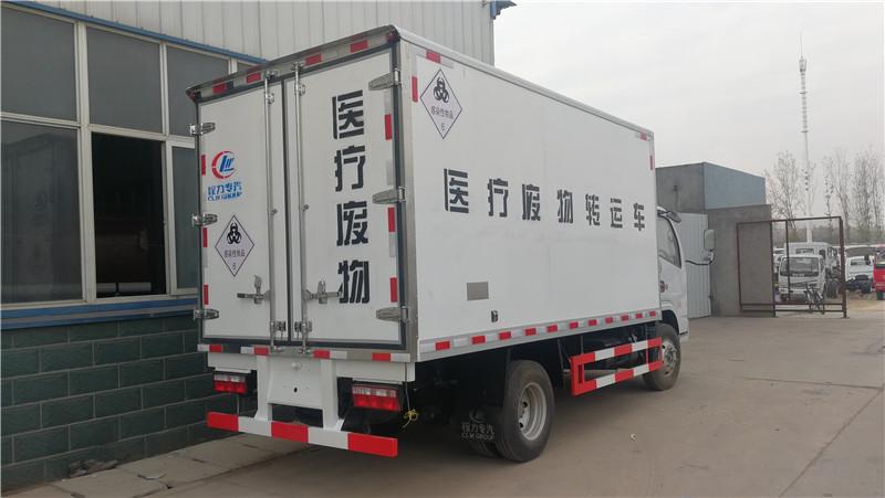 国六江铃医疗废物转运车图片