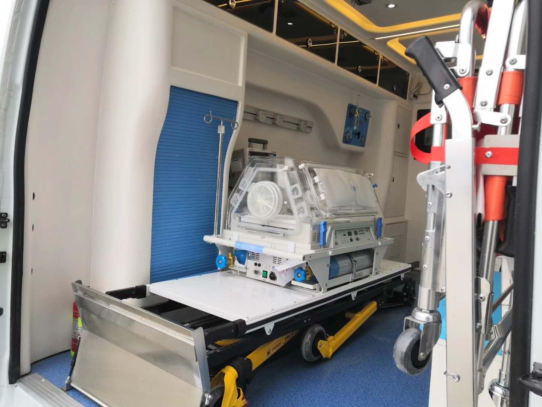 程力集團負壓救護車工作原理、標準配置與功能介紹圖片