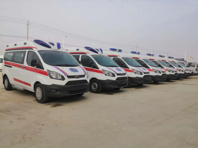 程力專汽救護車專業廠生產盛況展示圖片