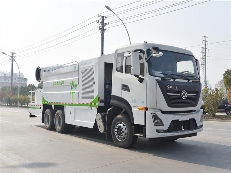 东风天龙KL国六25吨亚洲国产网站偷拍视频能抑尘车