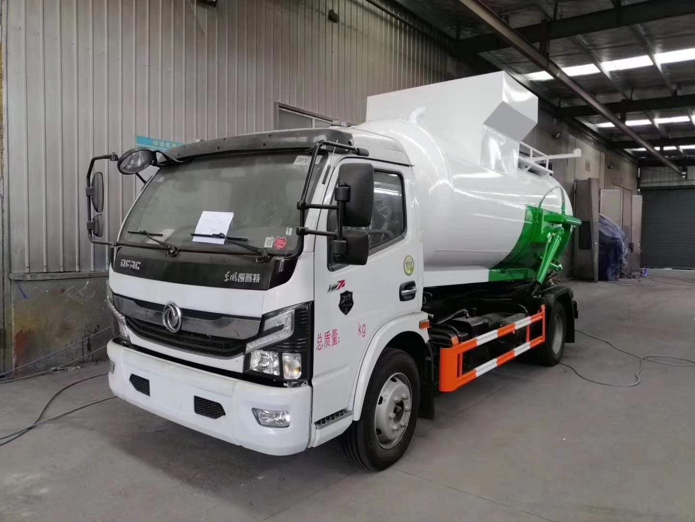 国六东风多利卡餐厨垃圾车