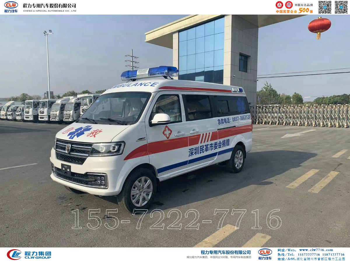金杯新海狮S救护车【CLW5020XJHSY6】