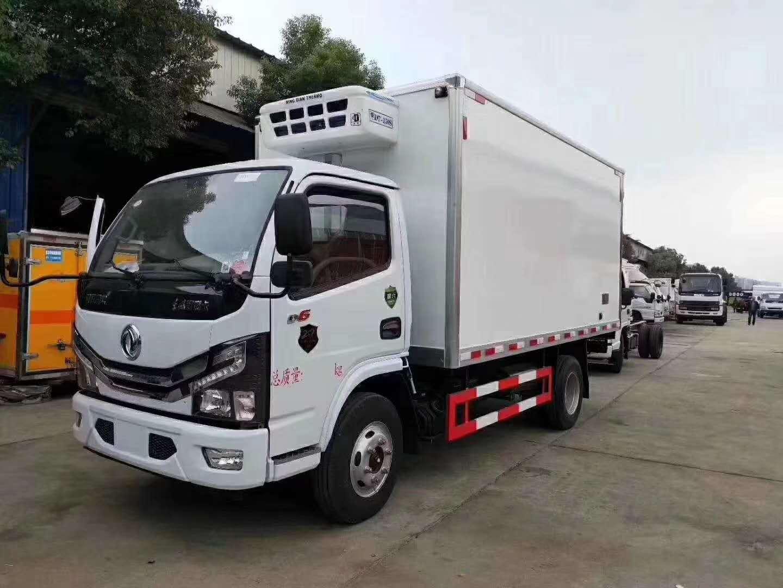 (国六)东风多利卡4.2米冷藏车