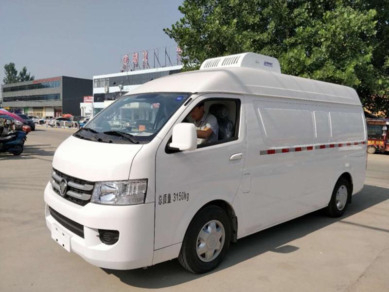 福田G7国六面包式冷藏车正式登陆