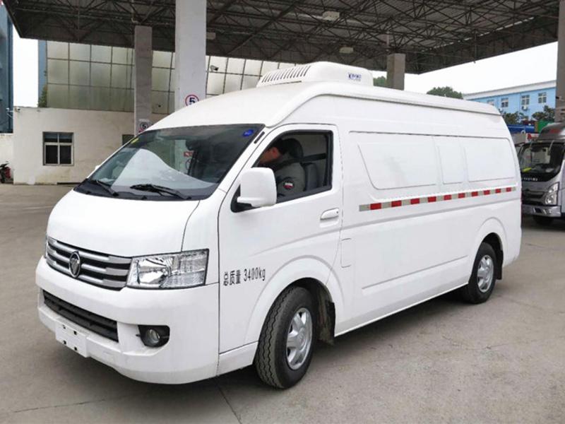 国六福田G9面包式冷藏车正式上市