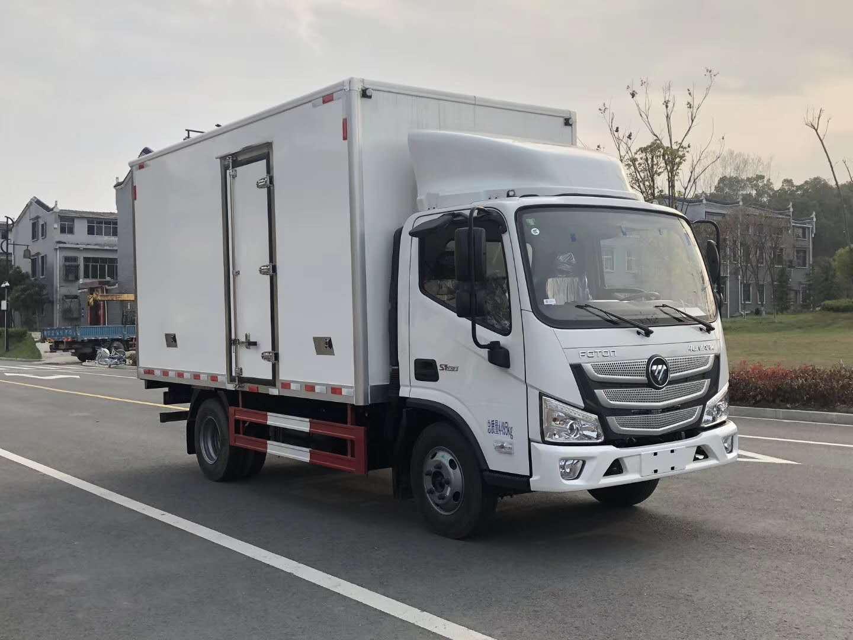 国六福田欧马可鲜活水产品运输车图片