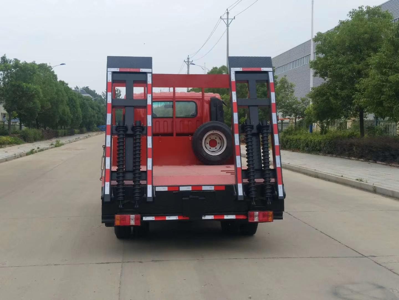 凯马蓝牌国五平板运输车图片