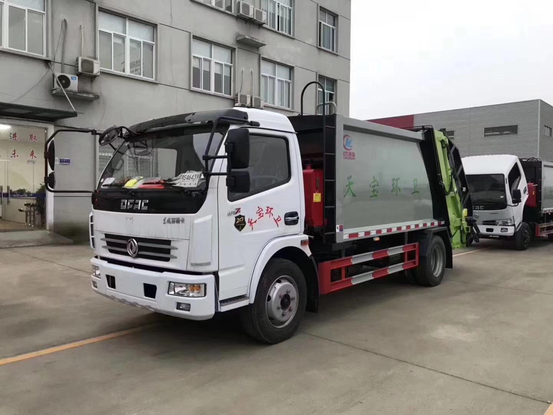 东风多利卡8吨压缩垃圾车图片