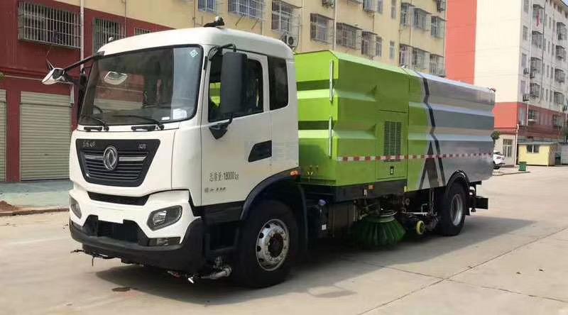 16吨国六东风洗扫车图片