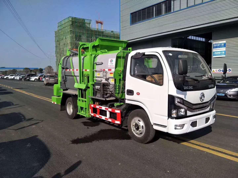 东风多利卡,国六餐厨垃圾车图片