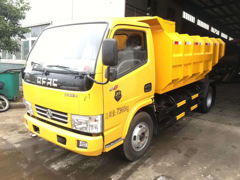 东风多利卡5方垃圾污泥运输车图片
