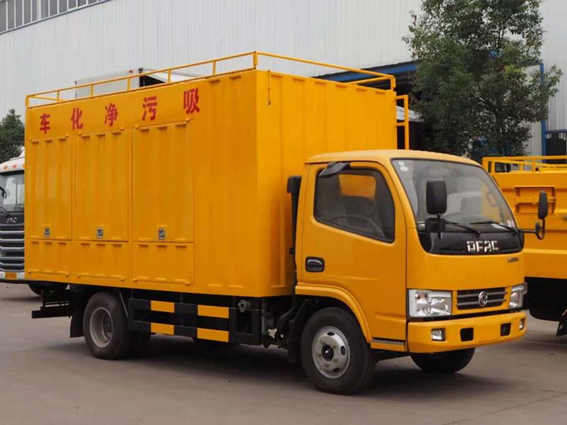 东风小多利卡吸污净化 车  污水净化处理车厂家 DLQ5070TWCDQ5型污水处理车