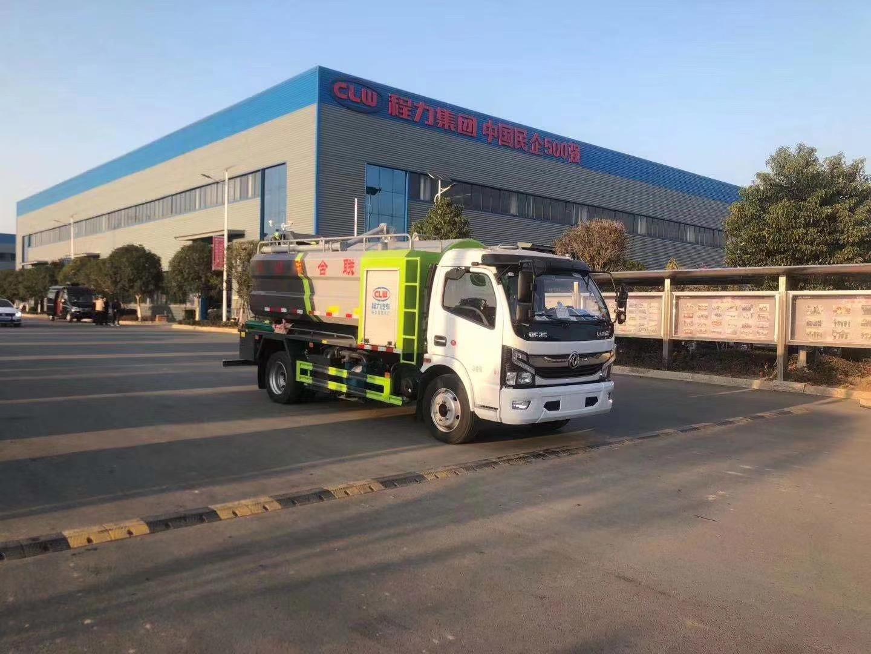 东风国六9方吨洗吸污车图片