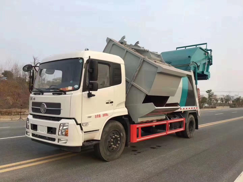 东风分类垃圾车图片图片