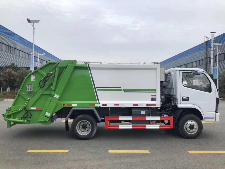國六6方壓縮垃圾車圖片