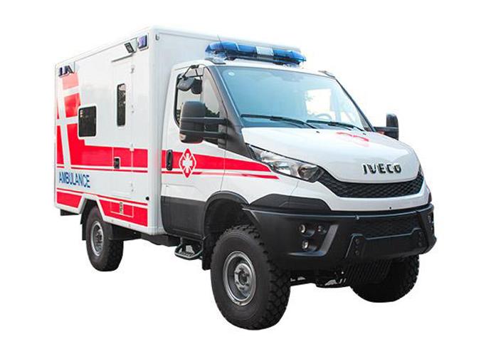 依維柯方艙急救型救護車