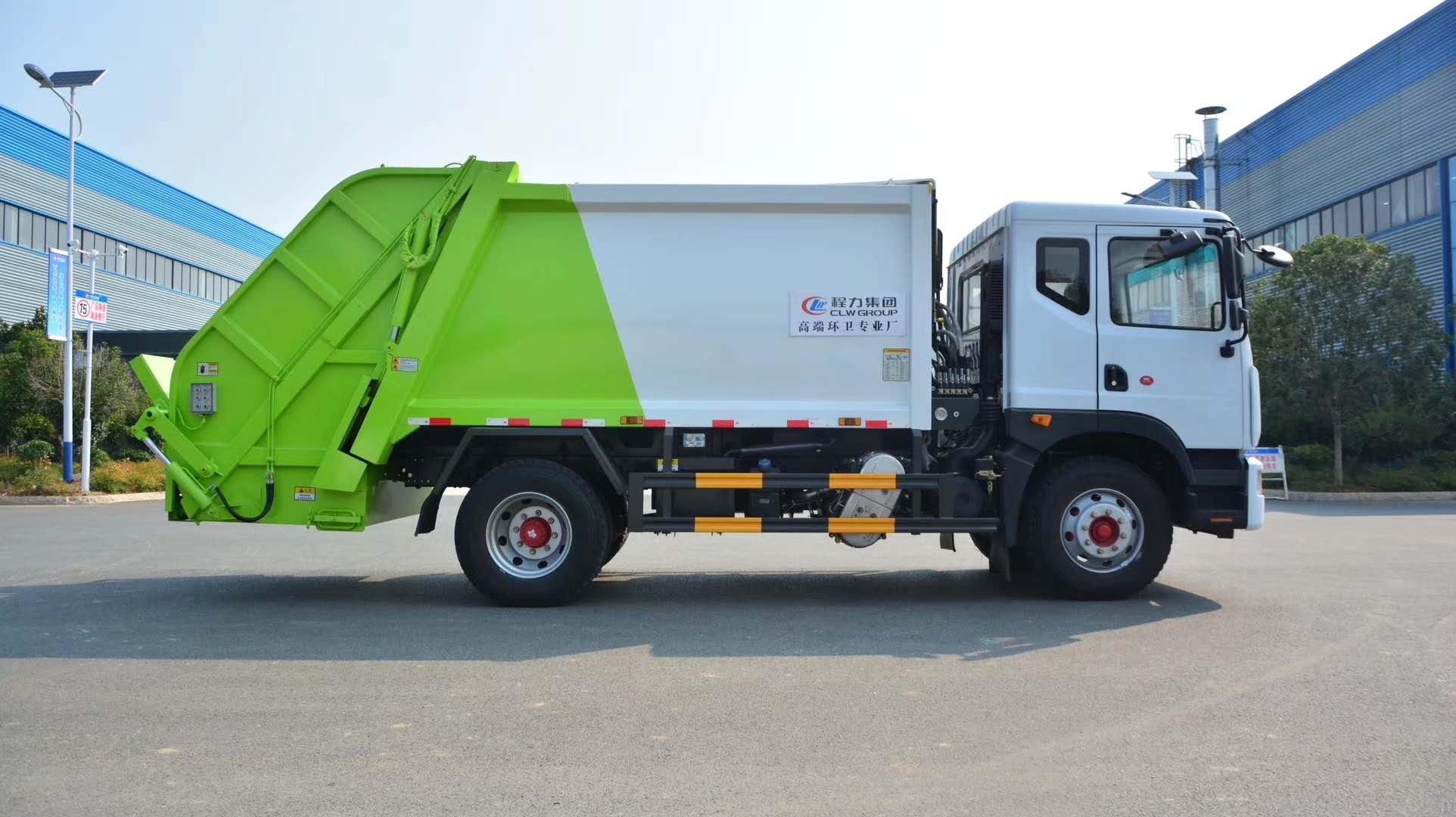 國六十方壓縮垃圾車圖片圖片