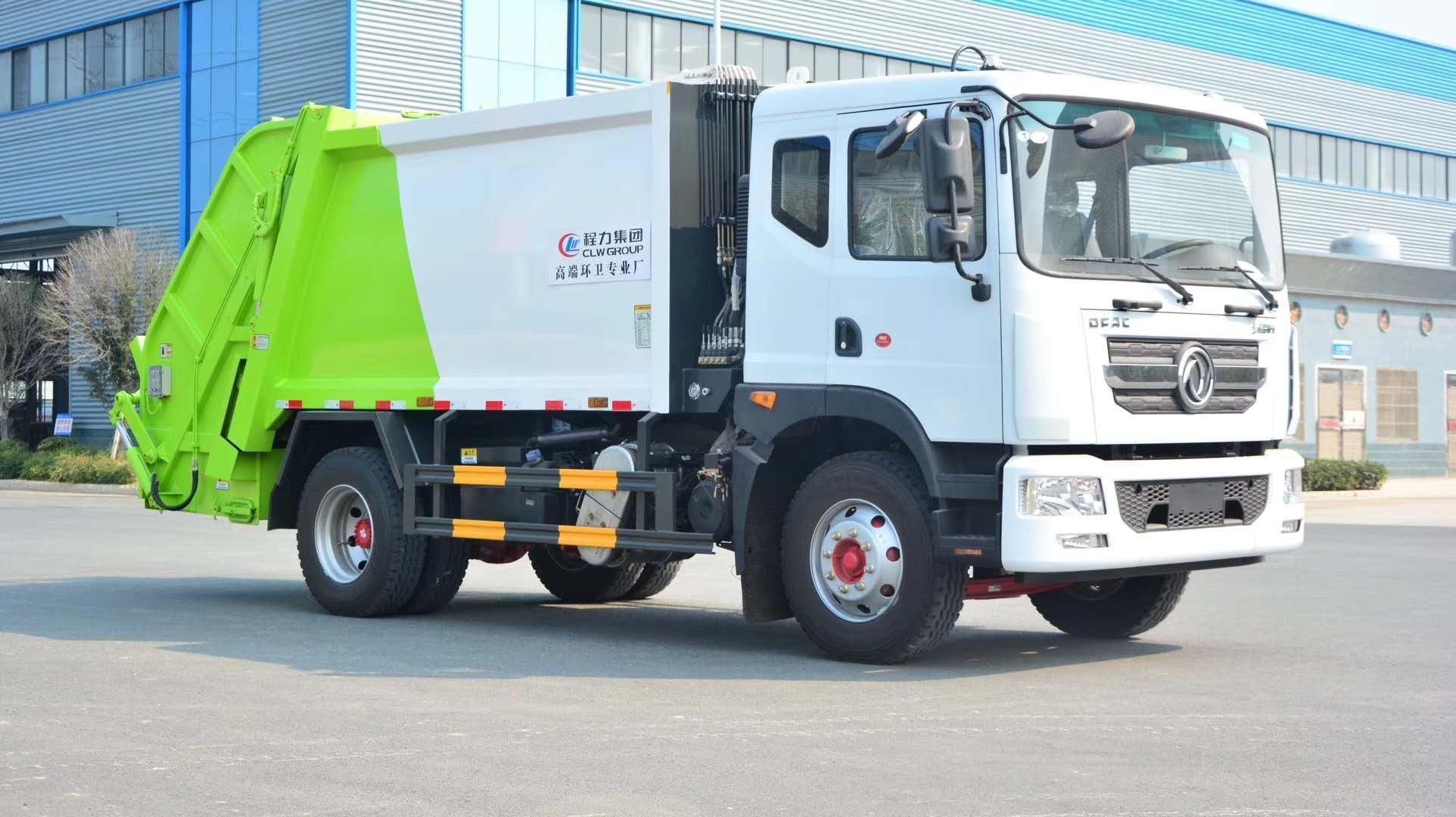 國六東風D9十方壓縮垃圾車圖片