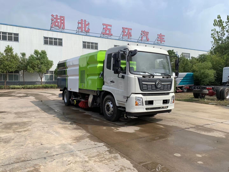 國六東風天錦洗掃車圖片