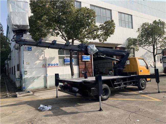 韩国进口21米蓝牌高空作业车