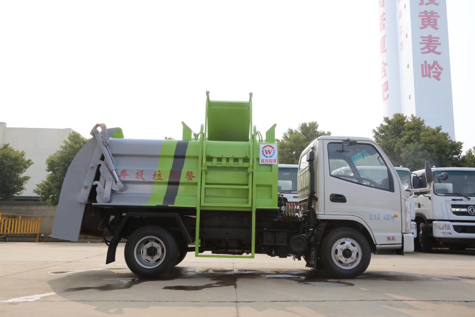 國六凱馬餐廚垃圾車圖片