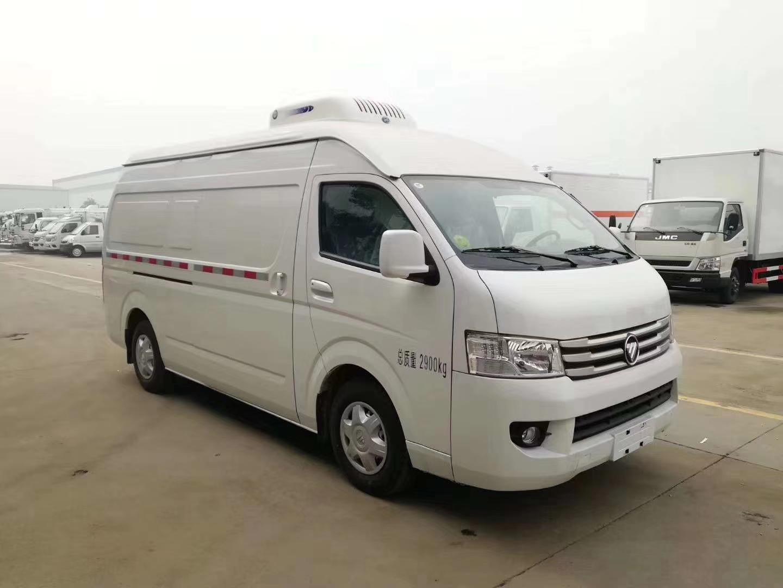 福田G9國六面包冷藏車圖片