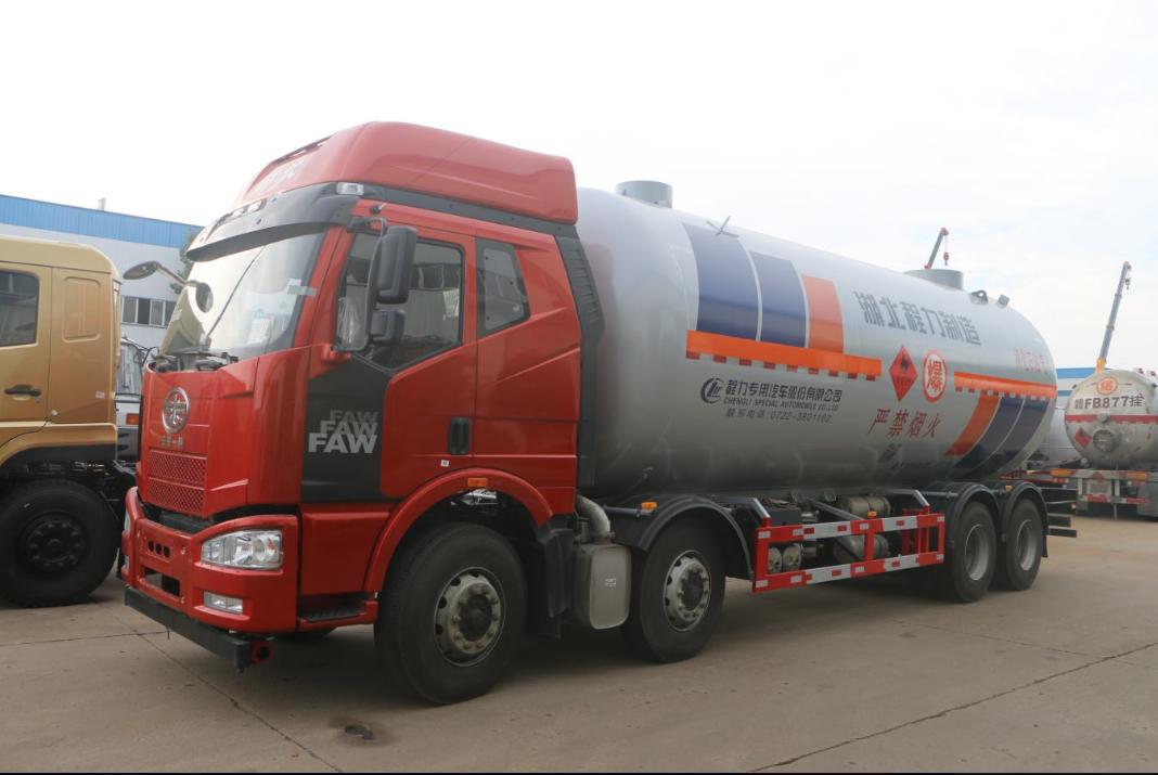 37.2立方液化石油气体运输车