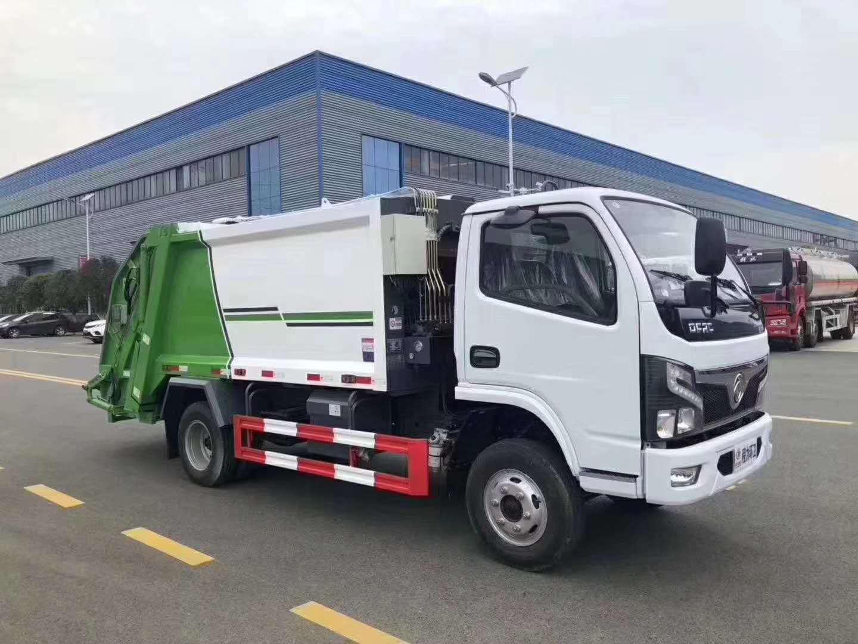 国六压缩垃圾车多少钱?