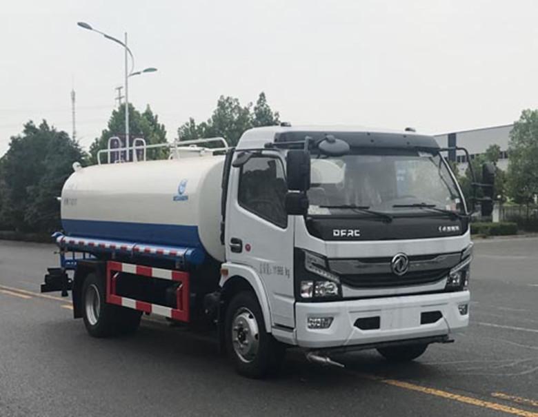 小型灑水車視頻   5噸灑水車多少錢   冠力灑水車廠家圖片