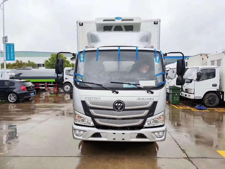 國六福田歐馬可S1冷藏車圖片