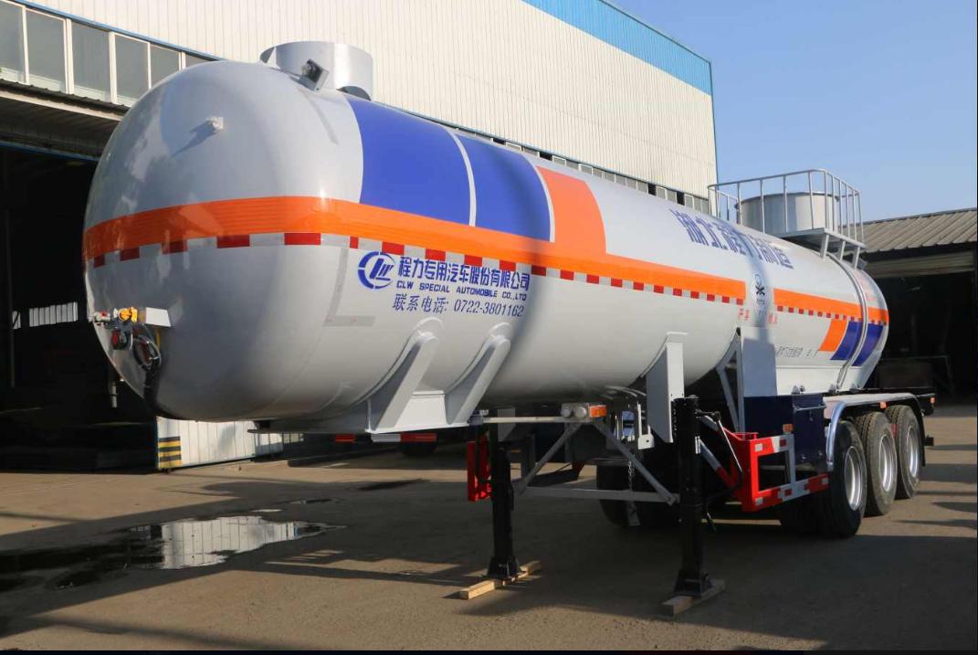 二氧化硫液化气体运输半挂车