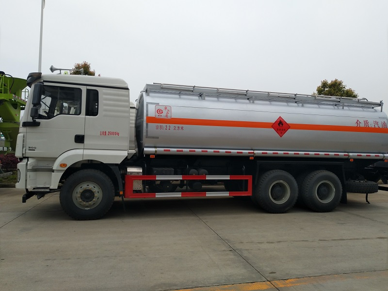 陜汽德龍20噸后八輪油罐車需要多少錢圖片