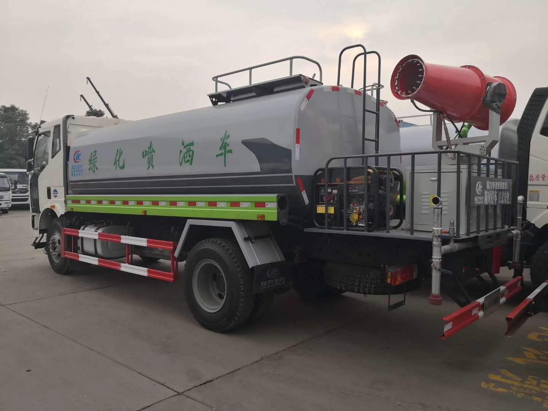 國六東風福瑞卡灑水車多少錢,新款外形,實際容積5方圖片