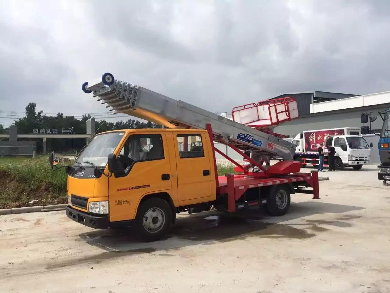 实用型28米云梯车效果展示视频
