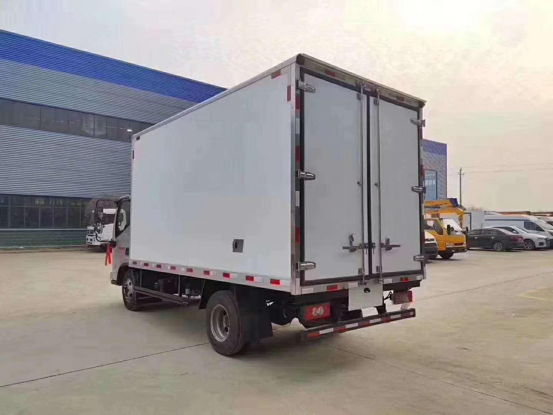 蓝牌四米二,冷藏车,福田奥铃速运冷藏车。图片