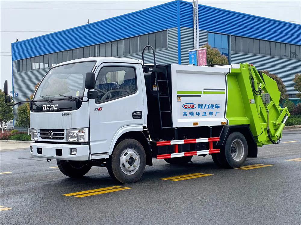 藍牌壓縮垃圾轉運車圖片