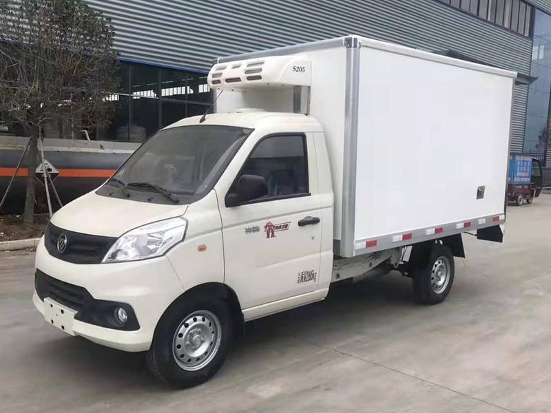 国六福田祥菱V1小型冷藏车现车促销中