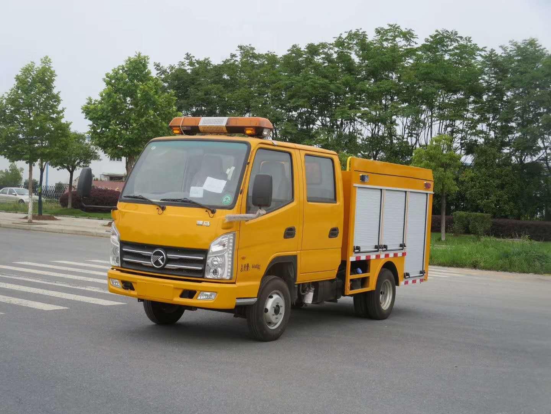 藍牌凱馬救險車圖片