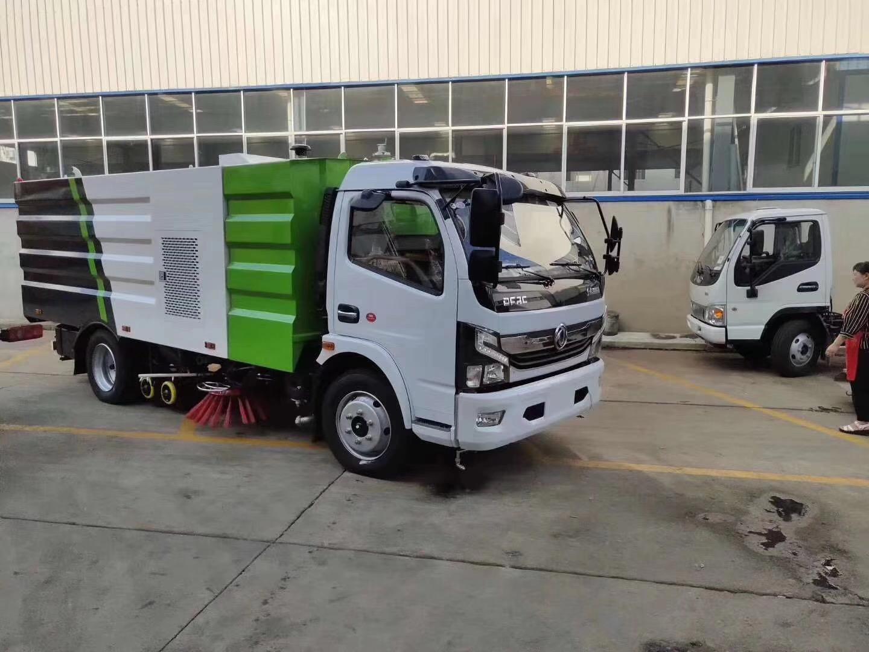 國六東8噸灑水掃路車廠家視頻