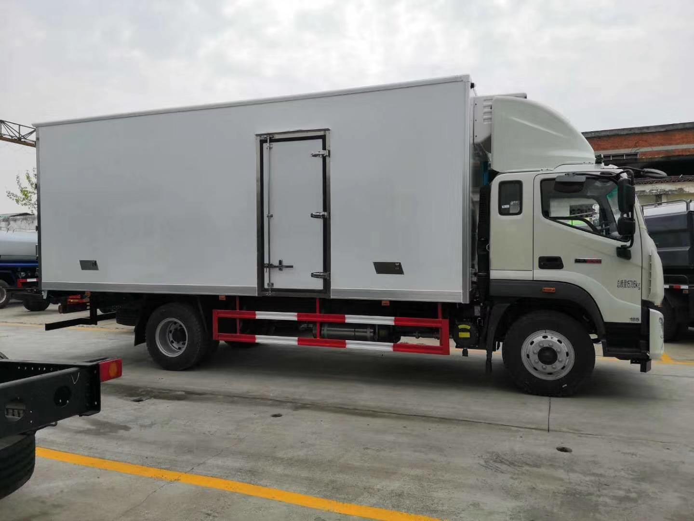 國六福田瑞沃冷藏車圖片