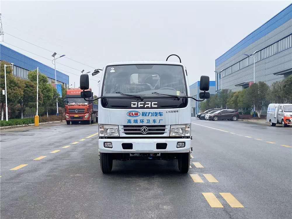 藍牌國五東風多利卡4方壓縮垃圾車圖片