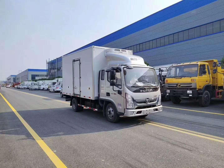 國六福田奧鈴速運冷藏車蔬果運輸車廠家直銷圖片