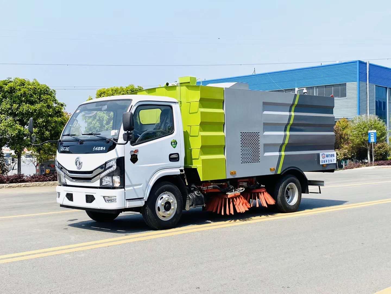國六東風多利卡掃路車圖片