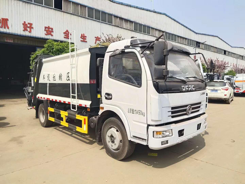 東風多利卡D7壓縮垃圾車圖片